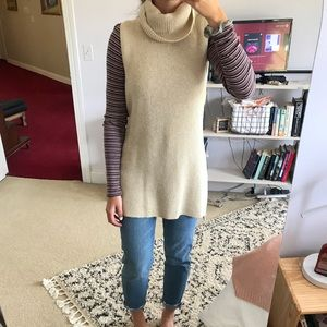 Sleeveless Gap Sweater